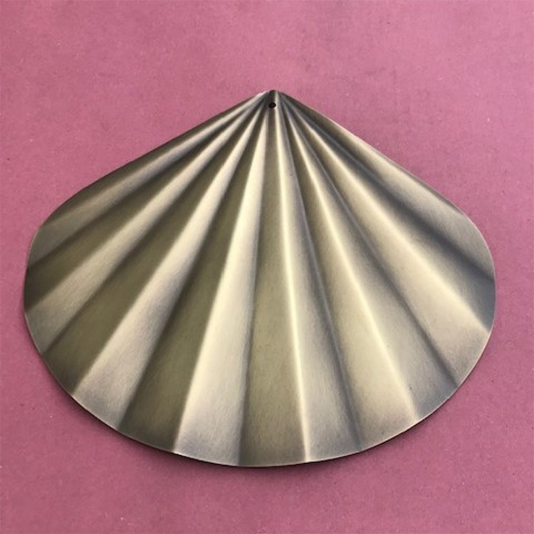 Brass fan for catering/gastronomy