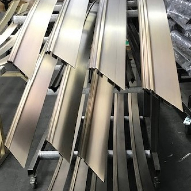 3000mm brass profiles